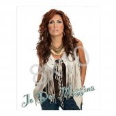 JoDee Messina 8x10- White Vest