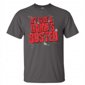 Jo Dee Messina Charcoal Busted Tee