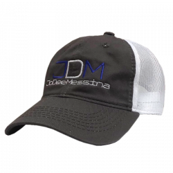 Jo Dee Messina Charcoal and White Ballcap