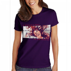 "Jo Dee Messina Ladies Purple ""Rant"" Tee"