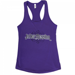 Jo Dee Messina Ladies Purple Rush Racerback Tank